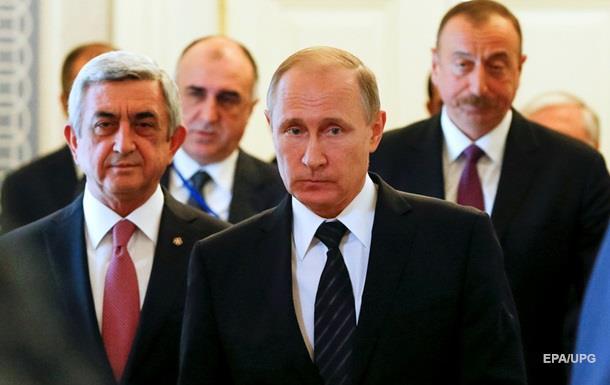 Путина привлекли к переговорам по Карабаху