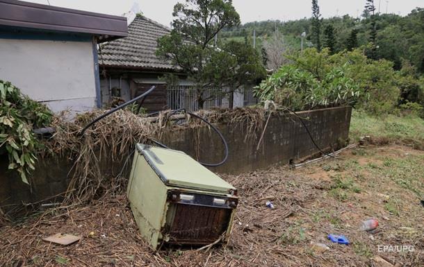 В Японии из-за стихийных бедствий погибли двое