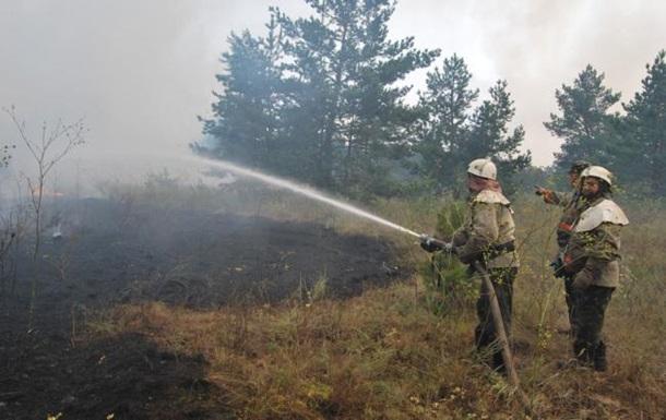 В Украине объявили чрезвычайный уровень пожарной опасности