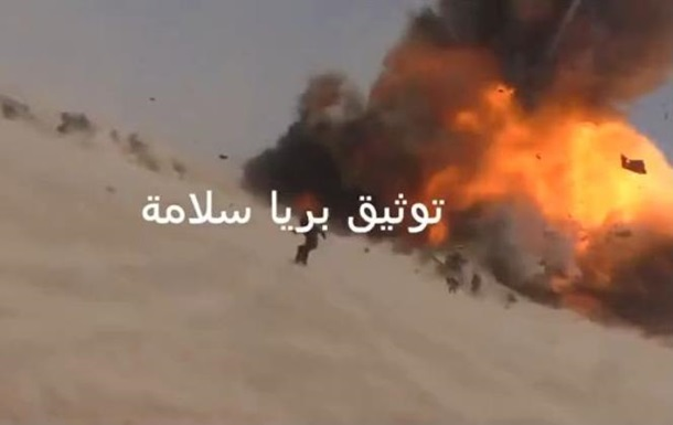Гибель российского военного в Сирии сняли на видео