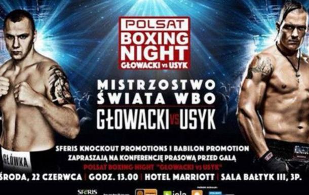 Александр Усик дал интервью польским СМИ по поводу боя с Гловацки