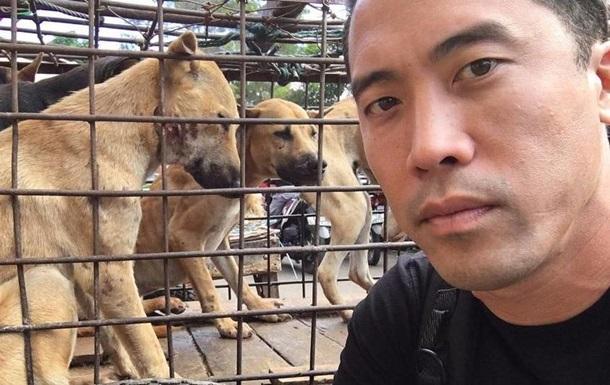 Активист спас тысячу собак от поедания в Китае