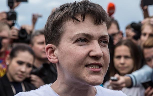 Отмена санкций и амнистия. Что предлагает Савченко
