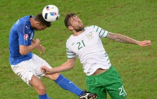 Ирландия обыгрывает Италию!