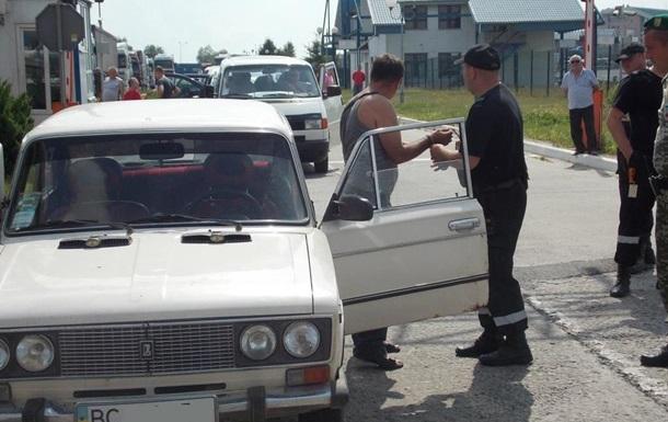 Украинец на ВАЗе пытался прорваться через границу
