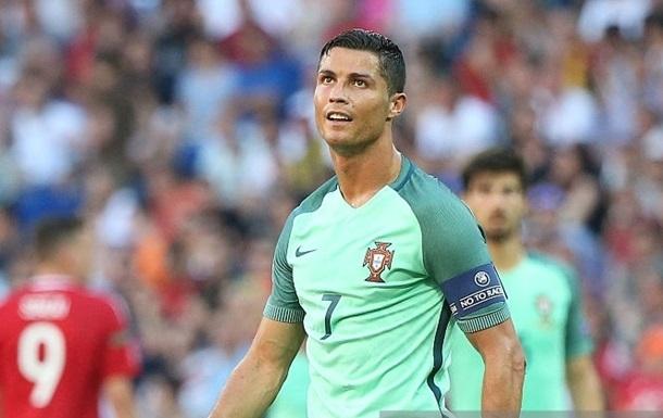 Роналду установил сразу два рекорда на Евро-2016