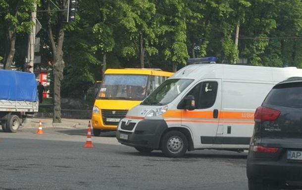 В Запорожье пассажир умер в маршрутке