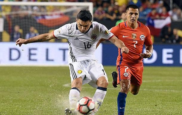 Колумбия - Чили. Обзор матча