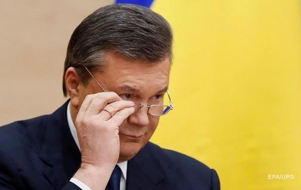 У РФ направили документи для відеодопиту Януковича