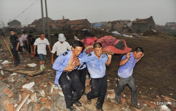 В Китае из-за смерча погибли 98 человек