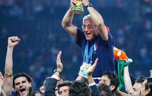 Липпи отказался от должности технического директора сборной Италии