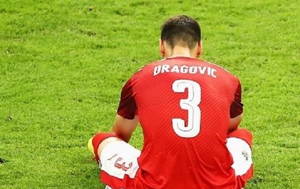 Ярмоленко и Драгович попали в сборную худших игроков группового этапа Евро-2016