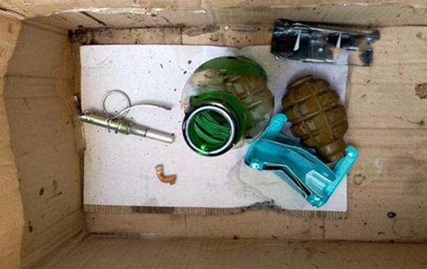 В Киеве на остановке нашли гранату