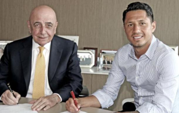 Милан подписал Лападулу