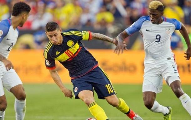 Копа Америка: Колумбия - бронзовый призер турнира