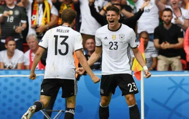 Германия - Словакия. Обзор матча