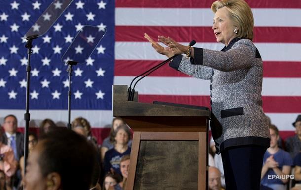 Соцопитування показало перевагу Клінтон над Трампом