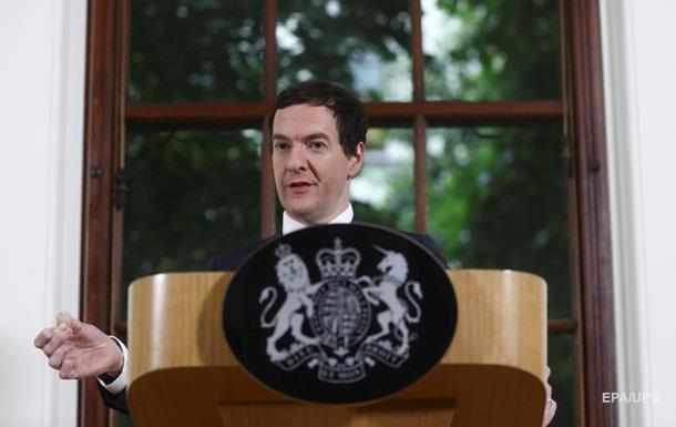 Осборн не будет претендовать на пост премьера Великобритании