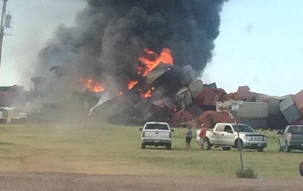 В Техасе столкнулись два поезда