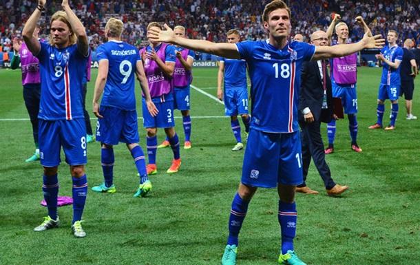 99.8 процентов исландцев посмотрели матч против Англии