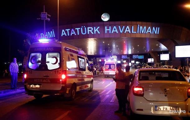 Взрыв в аэропорту Стамбула