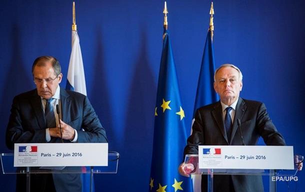 Франция хочет скорейшего снятия санкций с России