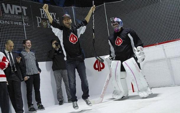 Канадец исполнил  хоккейную  мечту