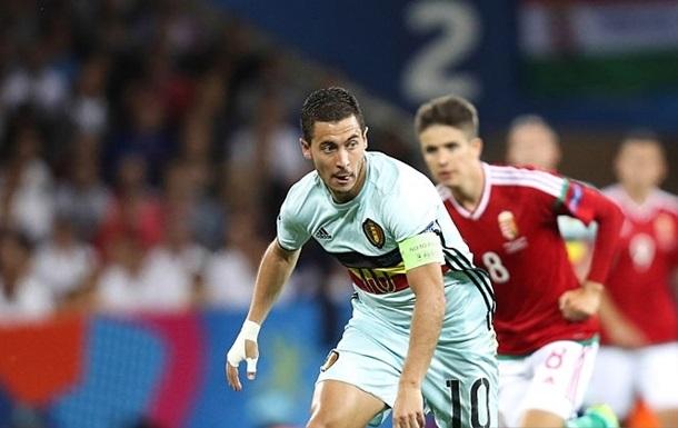 Азар пропустил тренировку сборной Бельгии перед игрой с Уэльсом