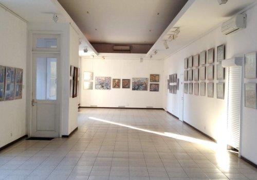Десятеро и Ярослав в галерее «Митець»