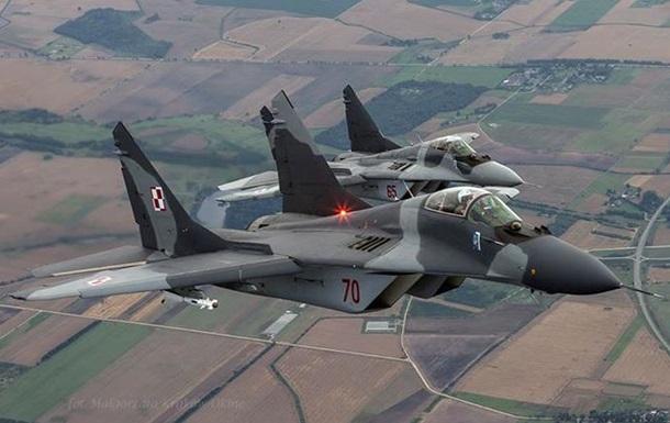 Польские истребители вооружат украинскими ракетами