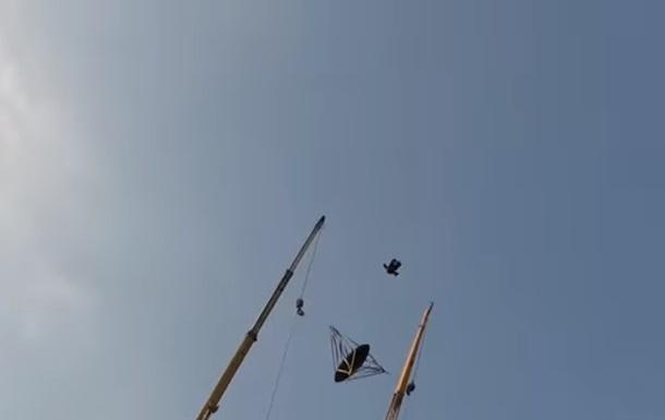 В Дубае установили рогатку для запуска людей