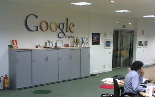 В офисах Google в Мадриде проходят обыски