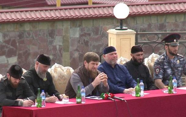 Кадиров запустив своє реаліті-шоу на Росії-1