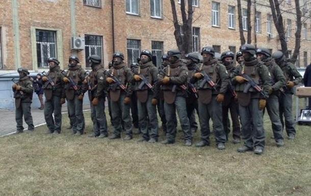 Спецназ НАБУ вооружен только отечественным оружием