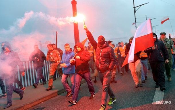 В Польше сорвали концерт украинских националистов