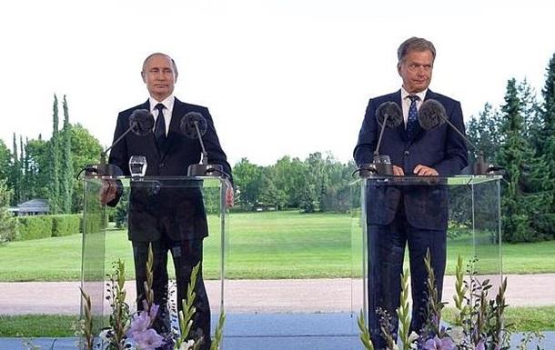 Путін пригрозив Фінляндії через рішення вступити в НАТО
