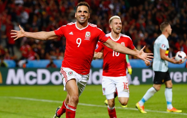 Робсон-Кану признан лучшим игроком матча Уэльс — Бельгия