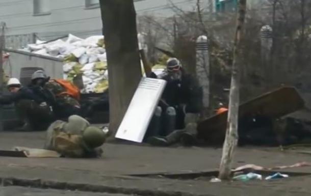 Еще одно видео расстрелов на майдане