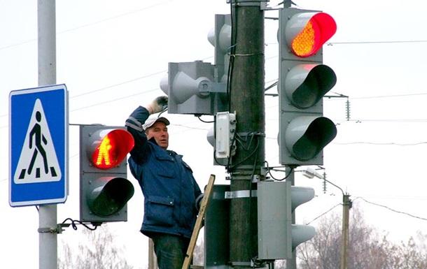 В Киеве тестируют новый режим работы светофоров