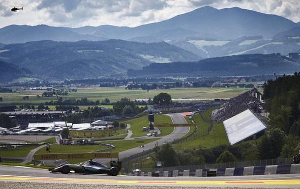 Формула-1. Гран-при Австрии. Хэмилтон на поуле в Шпильберге