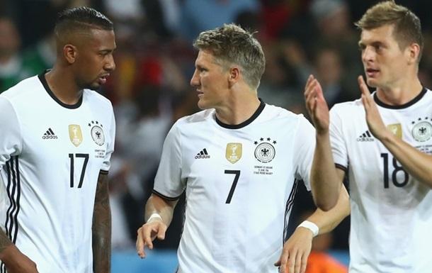 Германия в серии пенальти сломила Италию