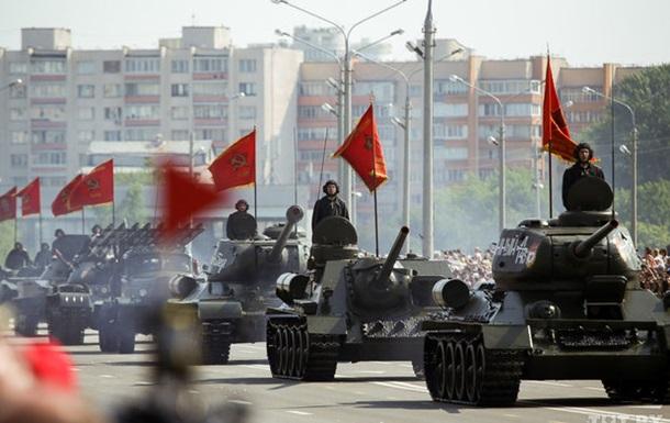 Военный парад в Минске в честь Дня независимости