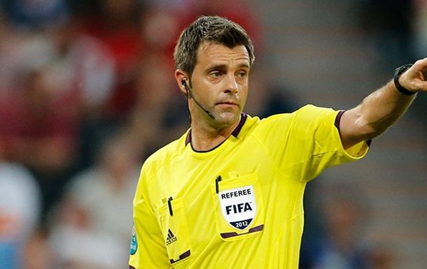 УЕФА назвал арбитров на полуфиналы Евро-2016