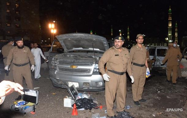 Взрыв прогремел у Мечети Пророка в Медине