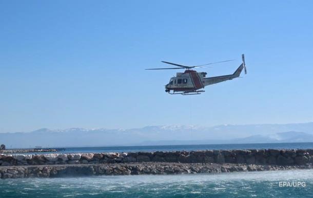 В Турции разбился вертолет с военными на борту