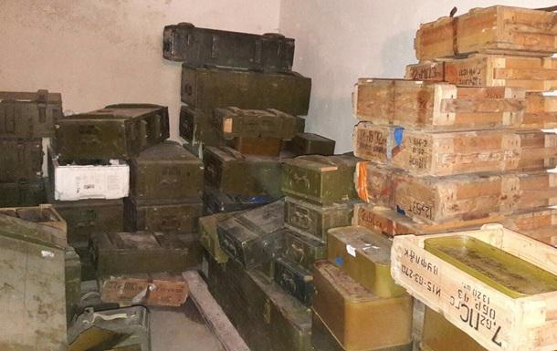 В ГПУ сообщают о находке рекордного тайника боеприпасов