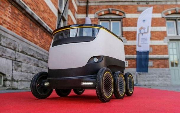 В Европе появятся роботы-доставщики