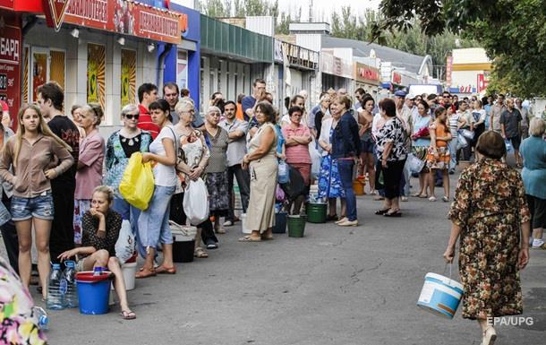 Каждый пятый житель Донбасса нуждается в продуктах – опрос