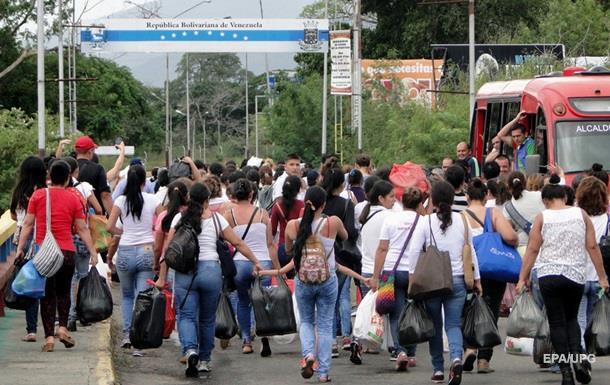 Колумбия готова открыть границу для венесуэльцев