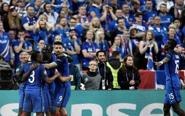 Место сборной Франции на Кубке Африки